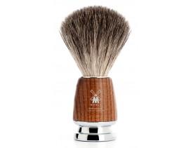 Brocha-afeitar-tejón-Mühle-Rytmo-madera-fresno