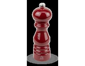 Molinillo-pimienta-manual-Peugeot-Paris-madera-lacada-rojo-18-cm