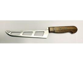 Cuchillo queso tierno y muy tierno 16 cm madera nogal Ganiveteria Roca