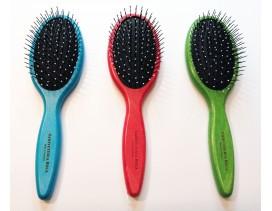 Cepillo para cabello húmedo oval colores