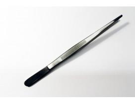 Pinzas para cocinar inox punta roma 18 cm