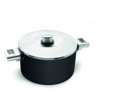 NUEVA SERIE WÖLL: Olla Diamond XR Logic 20 cm con tapa para inducción, fuego y vitro