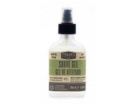 Jabón de afeitar transparente Freak's Grooming 90 ml.