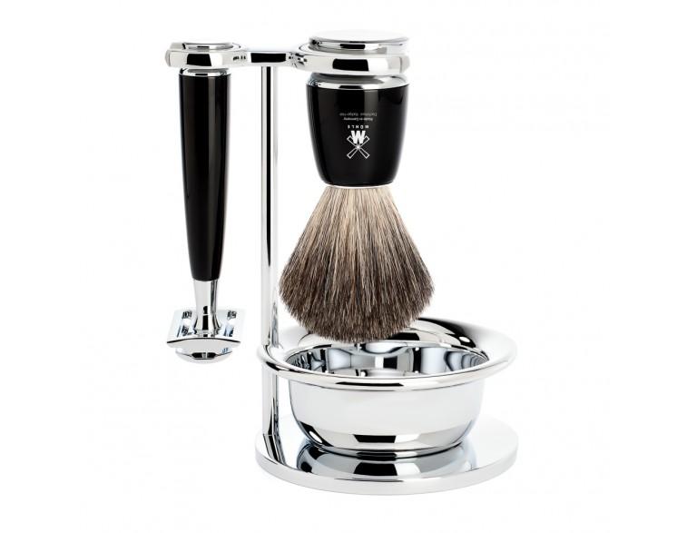 Juego-afeitar-MÜHLE-RYTMO-negro