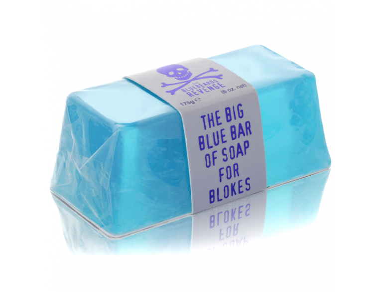 Jabón Blue Bar Soap pastilla 175gr -Bluebeards