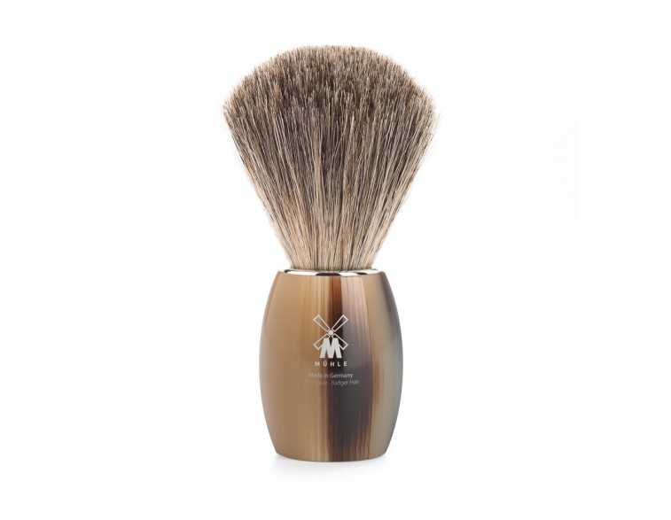Brocha afeitar Muhle Modern T resina imitación asta