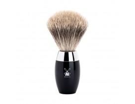 Brocha de afeitar Muhle Kosmo T+ resina negra