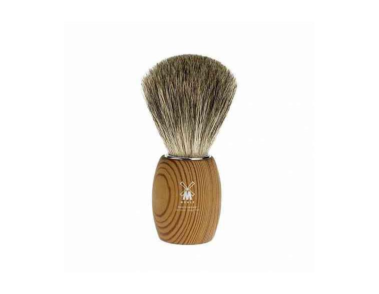 Brocha de afeitar Muhle Modern T madera pino estabilizada