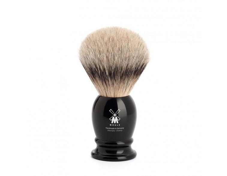 Brocha de afeitar Muhle Classic TPP/T21 resina negra