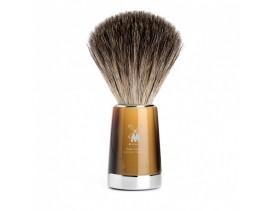 Brocha de afeitar Muhle Liscio T resina imitación asta rubia