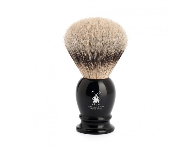 Brocha de afeitar Mühle Classic TPP/T23 resina negra