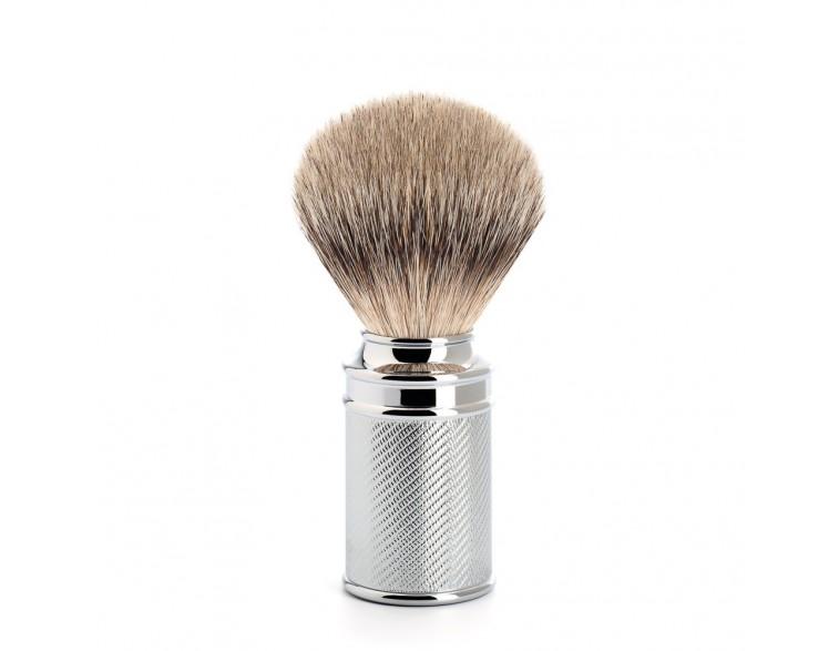 Brocha de afeitar Muhle Tradicional TPP cromada plata