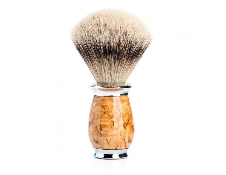 Brocha de afeitar Muhle Purist TPP madera abedul