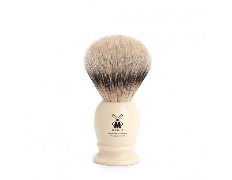 Brocha de afeitar Muhle Classic TPP/T19 resina imitación marfil