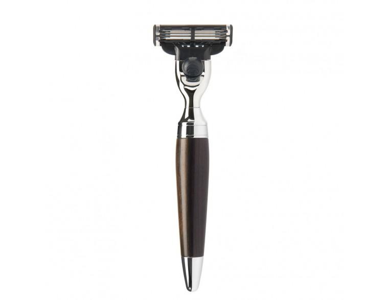 Maquinilla de afeitar Mühle Stylo M3 madera granadilla