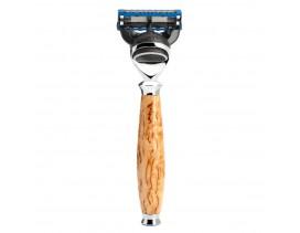 Maquinilla de afeitar Mühle Purist F madera abedul