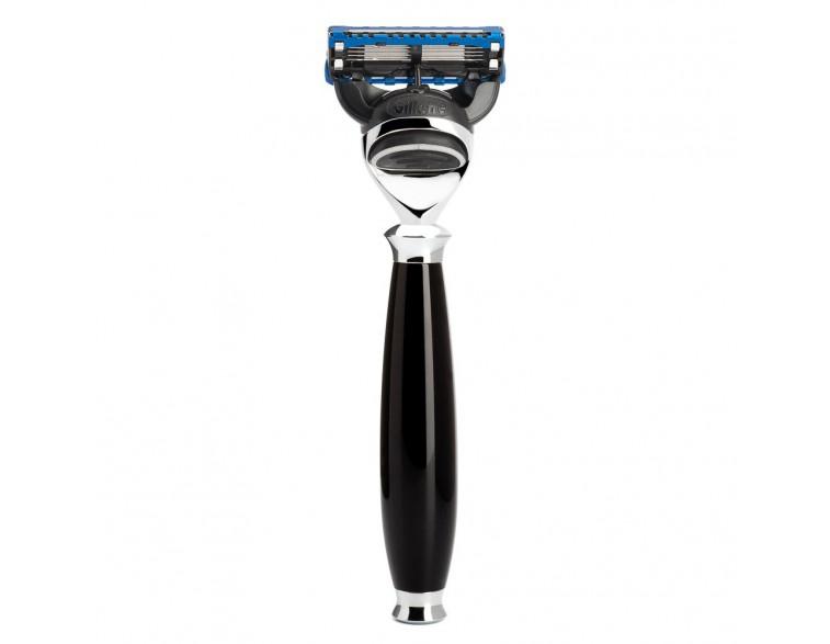 Maquinilla de afeitar Mühle Purist F resina negra