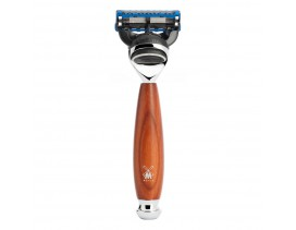 Maquinilla de afeitar Mühle Vivo F madera ciruelo