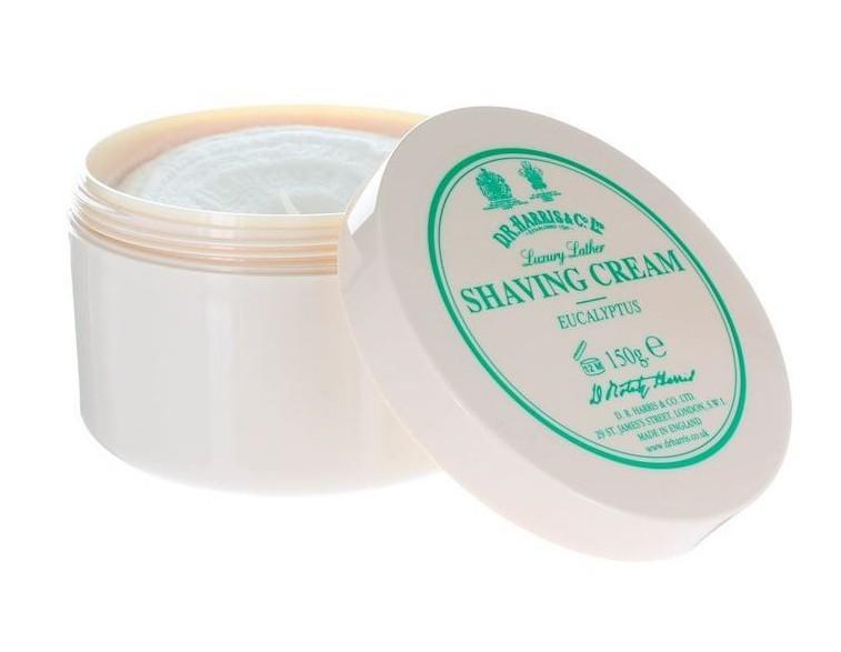 Tarro jabón de afeitar crema eucalipto 150 gr - Dr Harris