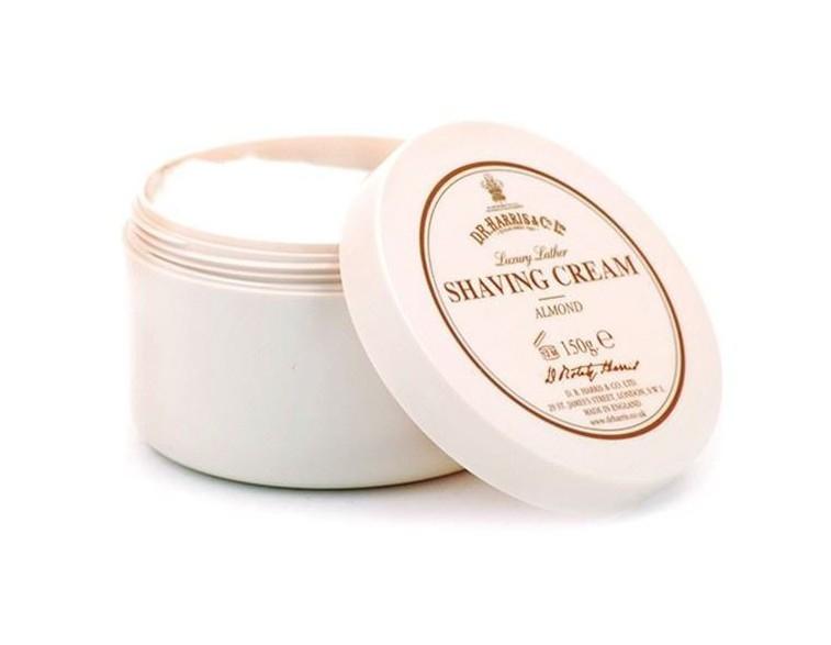 Tarro jabón de afeitar crema almendra 150 gr - Dr Harris