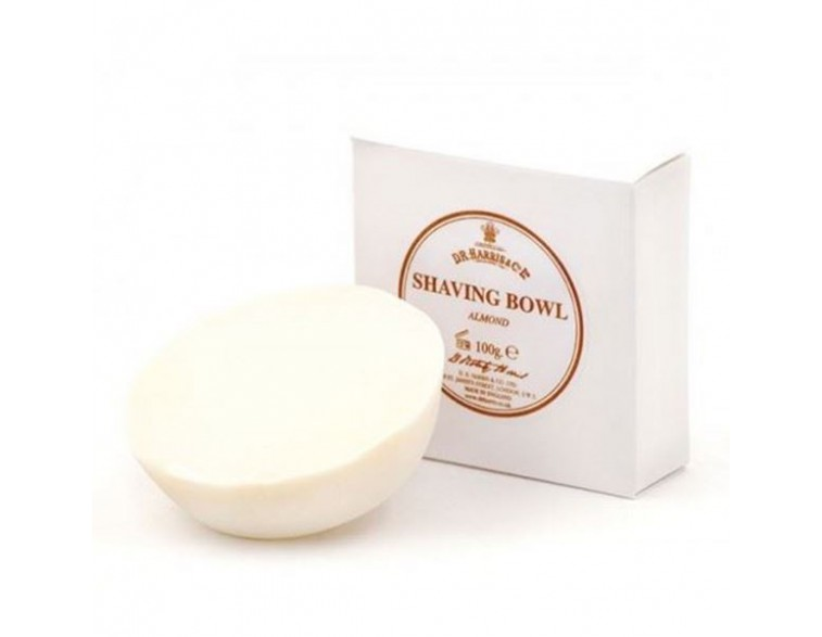 Pastilla jabón de afeitar Almond 100 gr - Dr Harris