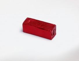 Pasta abrasiva para asentador, color roja.