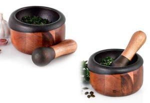 Mortero-AdHoc-madera-y-acero-cocina